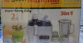 Super National Juicer & Blender 3 in 1 with 2 years company warrenty