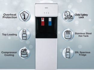 Water Dispenser with refrigerator by Varioline Intercool Pakistan