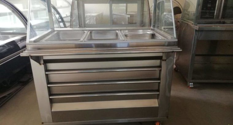 Pizza Prep Table, Pizza Prep Table In Pakistan, Table for Pizza Making, Prep Table for Pizza Making, Salad Bar, Fruit Chaat Counter
