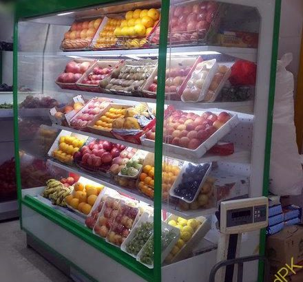 Up Right Display Showcase, Up Right Chiller, Up Right Show Case, Fruit Vegetable Chiller, Multi Deck Chiller