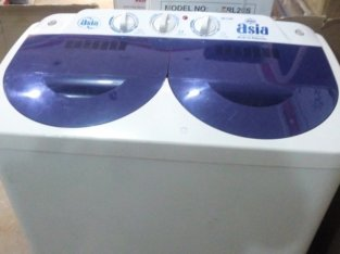 Washing machine with dryer two in one
